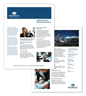 Bedrock Technology Partners - Collateral Print