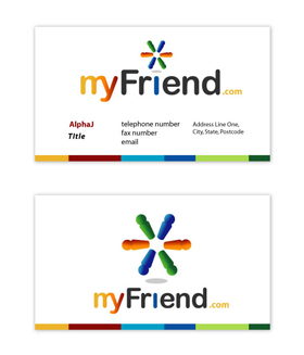 MyFriend - Business Cards