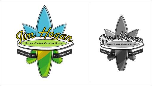 Jim Hogan's Surf Camp Logo